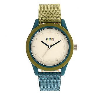 Crayo Pleasant Unisex Watch - Olive/Teal