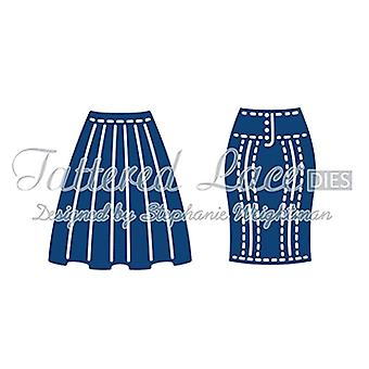 Tattered Lace Bella's Skirts D712 Stephanie Weightman
