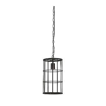 Light & Living Hanging Pendant Lamp D20x35cm Binty Black Sinc