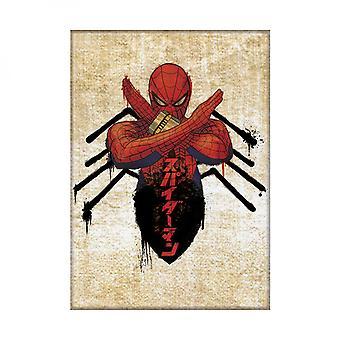 Japanese Spider-Man Spider Body Magnet