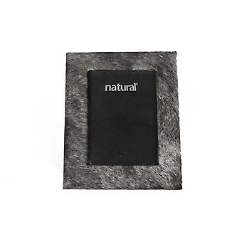 """8"""" x 10"""" Grey   Cowhide   5"""" x 7"""" Picture Frame"""