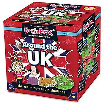 Brainbox Around the UK Game (72 Cards)