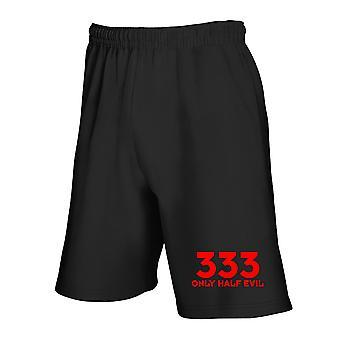 Black tracksuit shorts trk0224 333 dr