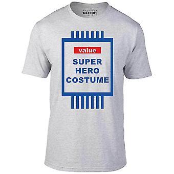Waarde superheld kostuum t-shirt