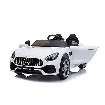 Children's Electric Car Two-seater Mercedes AMG GT EVA Tyres, Leather Seat, Shock absorber