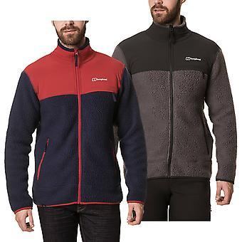 Berghaus Mens Syker Full Zip Fleece Durable Mid-Layer Warm Jacket