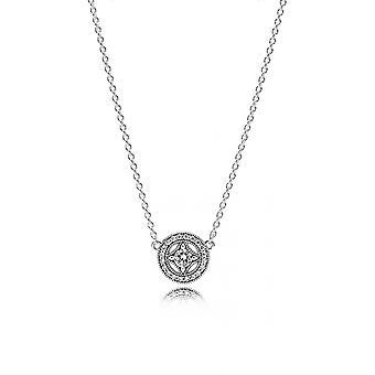 Necklace and pendant Pandora 590523CZ - necklace and pendant El gance Vintage woman