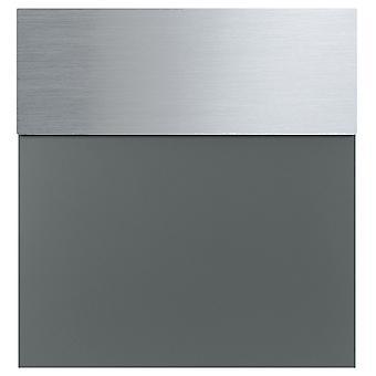 MOCAVI Box 580 Boîte aux lettres gris basalte en acier inoxydable (RAL 7012)