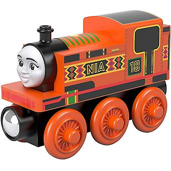 Thomas & Friends - Small Wooden Engines Nia Toy