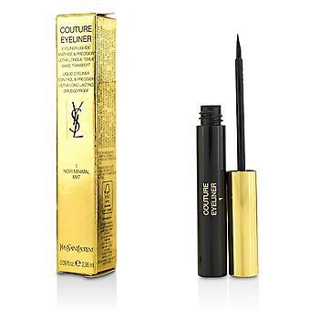 Couture flüssiger Eyeliner Nr. 1 noir minimal matte 213417 2.95ml/0.09oz