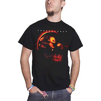Soundgarden T Shirt Superunknown Album Cover Band Logo Official Mens New Black