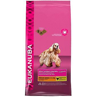 Eukanuba Adult Weight Control Medium Races (Dogs , Dog Food , Dry Food)