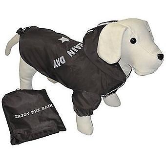 Nayeco пользуются плащи дождь день (черный) 30 cm. (собаки, Одежда для собак, плащи)