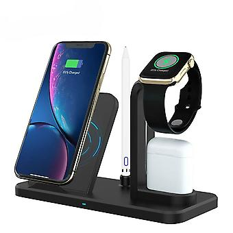 4 in 1 wireless charger station