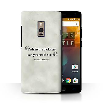 STUFF4 Case/Cover for OnePlus 2/Two/Martin Luther King Jr/Famous Quotes