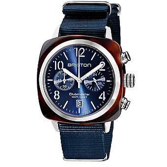 Briston 19140.SA.T.33.NMB Clubmaster Classic Midnight Blue Wristwatch