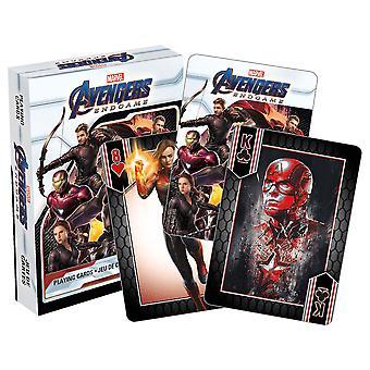 Marvel Мстители Конец игры игральные карты