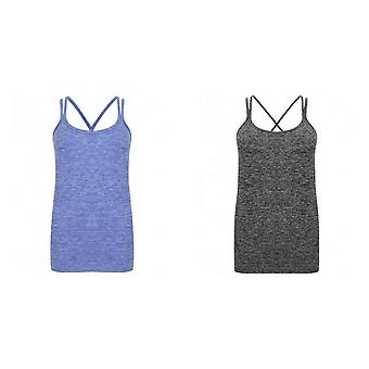 Tombo Womens/Ladies Seamless Strappy Vest
