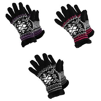 RockJock Womens/Ladies Knit Style Gloves