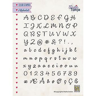 Nellie's Choice Clearstamps - Alphabet Lena-2 ALCS003 A5 (01-20)