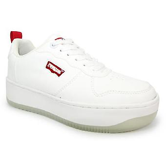Levis Queens Trainers White