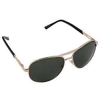 Miesten aurinkolasit ja aurinkolasit Naisten Polaroid Pilot - Gold/Green ilmaisilla brillenkokerS303_2