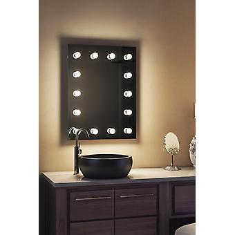 Diamond X Bodenmontage Hollywood Make-up Spiegel & Dimmable LED k412CWbath