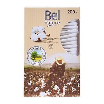Bomuld knopper natur Bel (200 UDS)