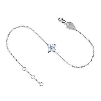 Anklet Fairy 18K Gold and Diamonds - White Gold