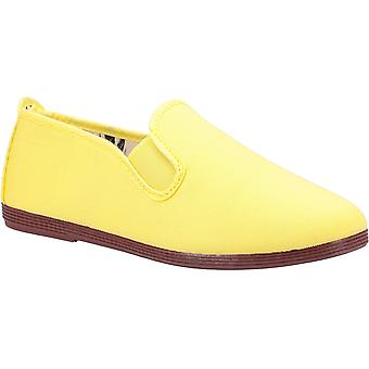 Flossy Femmes Arnedo Slip On Shoe Yellow