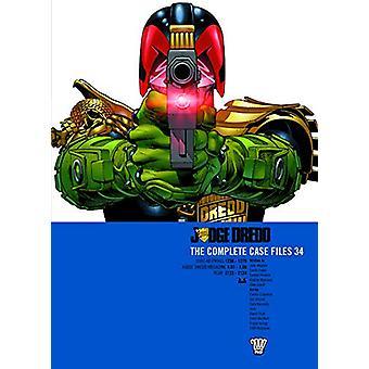 Judge Dredd Case Files 34 by Ennis Wagner - 9781781086919 Book
