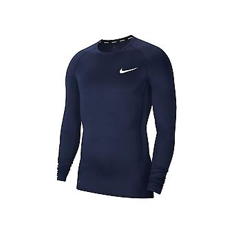 Nike Pro Top Compression Crew BV5588452 training all year men t-shirt
