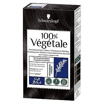 Schwarzkopf 100% Vegetale Hair Color - Preto Macio