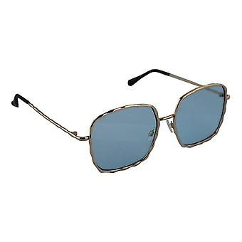 Sunglasses Ladies Square - Gold/LichtblauwHL206_4
