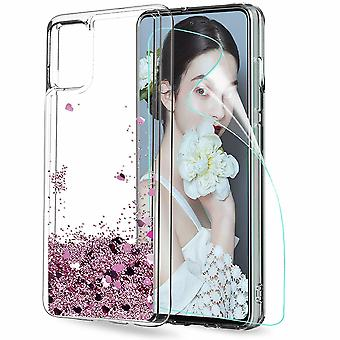 Huawei P40 Pro - Liquid Glitter 3d Bling Shell Case