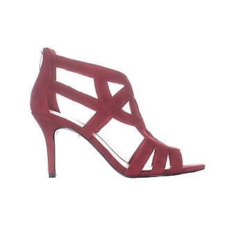 Marc Fisher Womens Nala Fabric Open Toe Casual Strappy Sandals