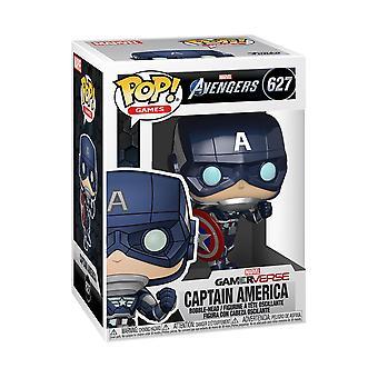 Funko Pop! Vinyl Marvel Avengers Gamerverse Captain America #627