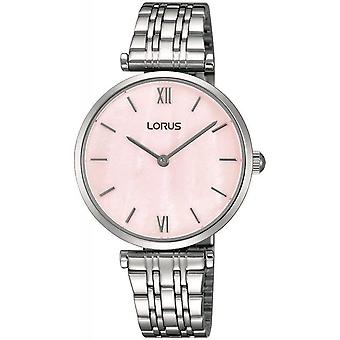 Lorus RRW91EX-9 Pink Mother Of Pearl Wristwatch