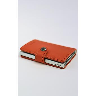 Crisple Leather Mini Wallet