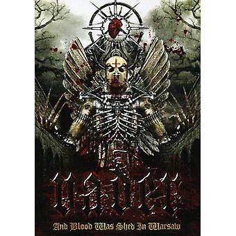 Vader - And Blood Was Shed in Warsaw [DVD] USA import