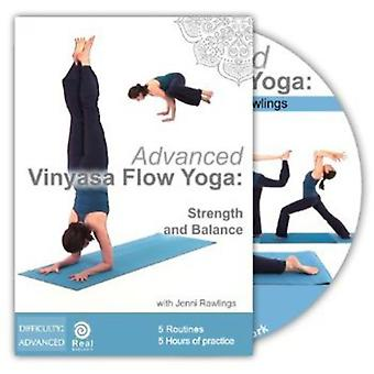 Advanced Vinyasa Flow Yoga: Strength & Balance [DVD] USA import