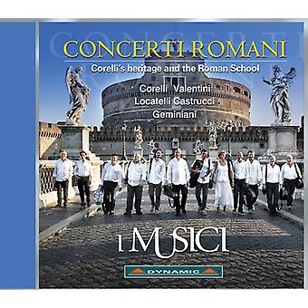 Castrucci / Musici - Concerti Romani [CD] USA import