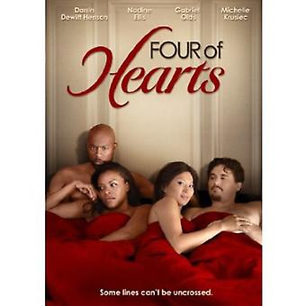Four of Hearts [DVD] USA import
