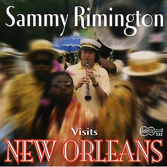 Sammy Rimington - Visits New Orleans [CD] USA import