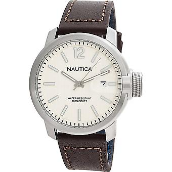 Nautica Watch NAPSYD003 - Läder Gents Quartz Analog