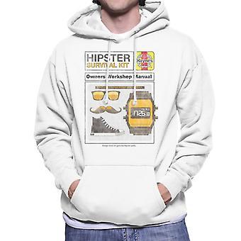 Haynes Hipster Kit omistajat Workshop Käsikirja Miesten&s Hupullinen Collegepaita