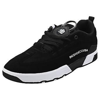 DC Shoes Legacy 98 Mens Skate Trainers in Black White