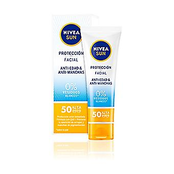 Face Sunscreen Antiblemish & Anti-aging Spf50 50 ml