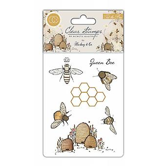 Craft Consortium Clear Stamps - Tell the Bees