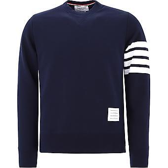 Thom Browne Mjt021h00535461 Men's Blue Cotton Sweatshirt